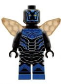 Blue Beetle Figure with Wings - Custom Designed Minifigure